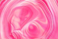 Piedra rosada de la ágata Fotos de archivo