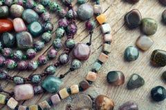 Piedra semipreciosa hermosa Foto de archivo libre de regalías