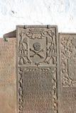 Piedra sepulcral Imagenes de archivo