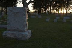 Piedra sepulcral Foto de archivo libre de regalías