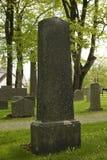 Piedra sepulcral de mármol Fotos de archivo