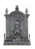 Piedra sepulcral de Víspera de Todos los Santos Fotografía de archivo