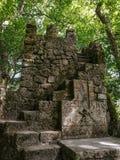 Piedra sepulcral del castillo foto de archivo libre de regalías