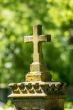 Piedra sepulcral histórica Fotografía de archivo libre de regalías