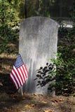 Piedra sepulcral vieja Imagen de archivo