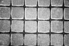 Piedra vieja del pavimento Imagenes de archivo