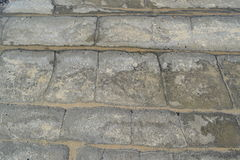 Piedra y arena Foto de archivo