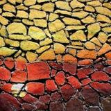 Piedras 2 de la pintada Foto de archivo