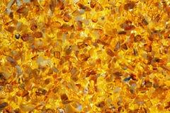 Piedras ambarinas de la playa del mar Báltico Foto de archivo libre de regalías