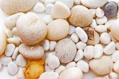 Piedras blancas. Fotos de archivo libres de regalías