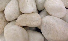Piedras blancas Imagen de archivo libre de regalías