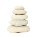 Piedras blancas del balance imagen de archivo libre de regalías