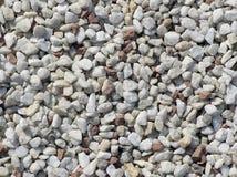Piedras blancas y rojas Imagen de archivo