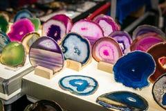 Piedras coloreadas Foto de archivo