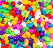 Piedras coloreadas Fotos de archivo