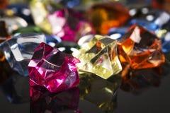 Piedras coloreadas Fotografía de archivo