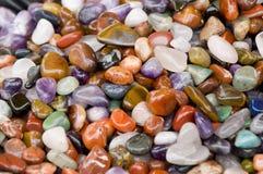 Piedras coloridas Foto de archivo libre de regalías