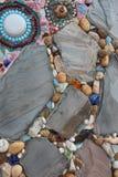 Piedras coloridas fotografía de archivo