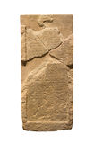 Piedras con las inscripciones Fotografía de archivo libre de regalías