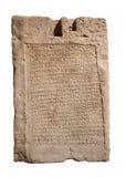 Piedras con las inscripciones Imagen de archivo libre de regalías