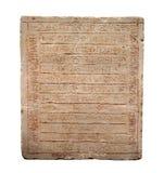 Piedras con las inscripciones Fotos de archivo
