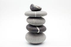 Piedras contrapesadas Fotografía de archivo