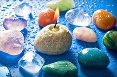 Piedras curativas Fotografía de archivo libre de regalías