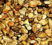 Piedras de Brown Fotografía de archivo libre de regalías