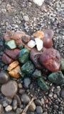 Piedras de Colourfull Imágenes de archivo libres de regalías
