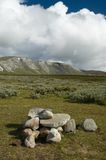 Piedras de Dovrefjell foto de archivo