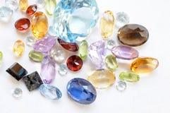 Piedras de gema Foto de archivo