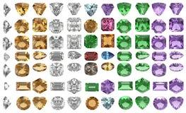 Piedras de gema Fotos de archivo libres de regalías
