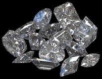 Piedras de gema fotografía de archivo