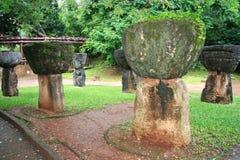 Piedras de Guam Latte Foto de archivo