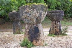 Piedras de Guam Latte Imagen de archivo