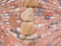 Piedras de la esquina Foto de archivo
