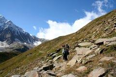 Piedras de la montaña Imagenes de archivo
