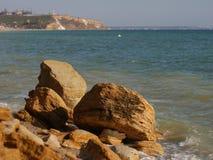 Piedras de la orilla Fotografía de archivo libre de regalías