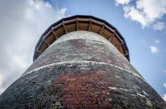 Piedras de la pared de ladrillo Torre de la prisión de Juana de Arco Imágenes de archivo libres de regalías
