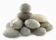 Piedras de la pila imagen de archivo