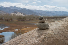 Piedras de la pila Imagen de archivo libre de regalías