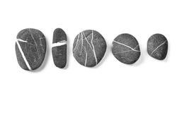Piedras de la playa marina imagen de archivo