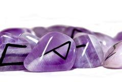 Piedras de la runa imagen de archivo libre de regalías
