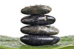 Piedras de la terapia de Lastone Fotografía de archivo libre de regalías