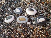 Piedras de los pasos foto de archivo libre de regalías