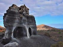 Piedras de los teguis de Guatiza Fotos de archivo libres de regalías