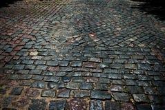 Piedras de pavimentación Fotos de archivo libres de regalías