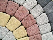 Piedras de pavimentación Fotografía de archivo libre de regalías