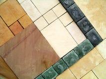 Piedras de pavimentación imagenes de archivo