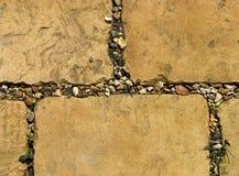 Piedras de pavimentación resistidas Imagenes de archivo